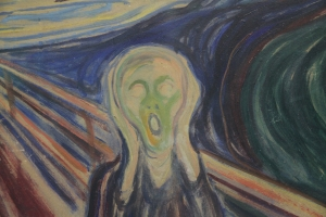 Inner scream of mental illness