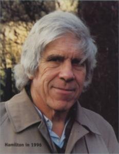 Evolutionary biologist, William Hamilton