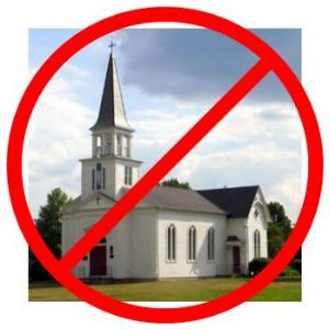 Decline in church attendance