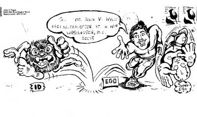 The winning cartoon