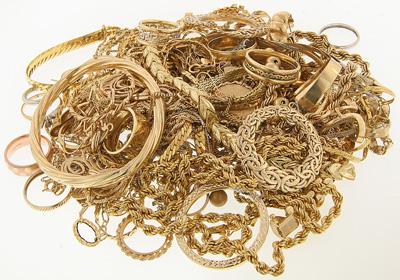 Gold jewlery