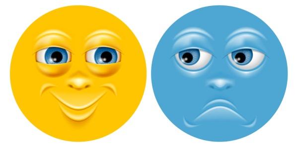 Interacting emojis