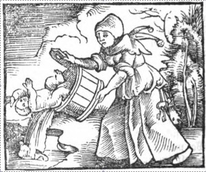 Throwing out baby with bathwater.