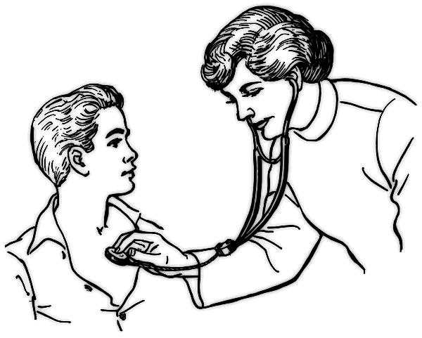 doctot examining a patient