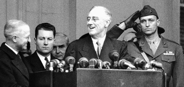 FDR's 4th inaugural address