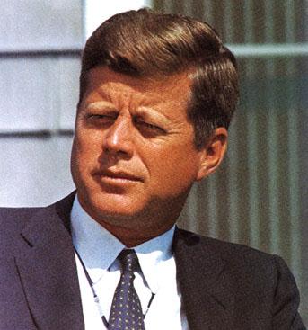 Kennedy's hair