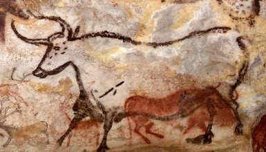 Cave painting and neanderthal extinction